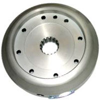 Light alloy flywheel