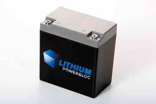 Lithium POWERBLOC LPB 11000 LiFePO4 Batterie 12V / 11Ah - 142 x 85 x 147mm ~2600g