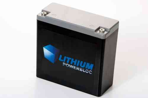 Lithium POWERBLOC LPB 18000 LiFePO4 Batterie 12V / 18AH - 181 x 74 x 174mm ~3600g