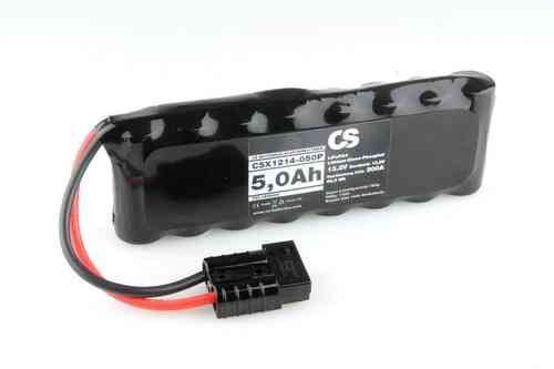 LiFePo4 Motorrad Starter Batterie -PRO- 12V / 5,0Ah -300A- ~825g -Stickversion-